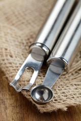 Parisienne Ausstecher und Ziseliermesser