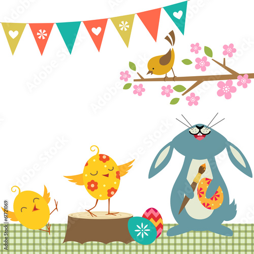 Cheerful Easter