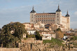Toledo - Alcazar in morning light
