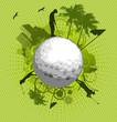 Golf world green