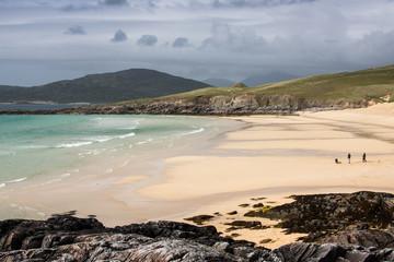 Beautiful Beach in Outer Hebrides, Isle of Harris; Scotland, UK