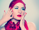 redcap 013/ retro portrait of a beautiful woman