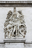 Sculpture on the Arch of Triumph, Paris