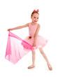 Ballerina Child in Pink Tutu