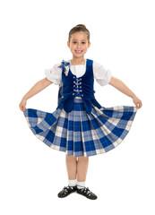 Smiling Irish Highland Dancer