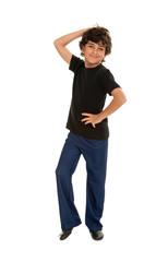 Fresh Jazz Dancing Boy