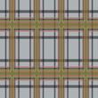 Rectangular tartan brown and gray fabric seamless texture