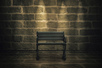 The Bench in the Dark Room