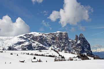 Der Schlern, Dolomiten, Südtirol, Italien
