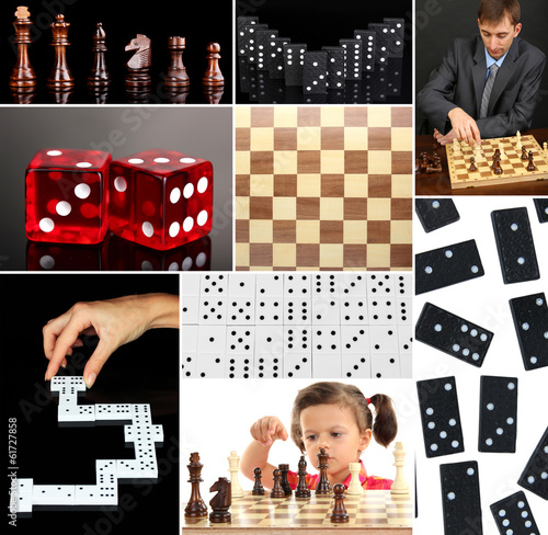 Smart games collage
