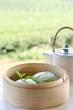 green tea Mantou