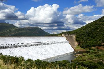 Loskop Dam South Africa spillway