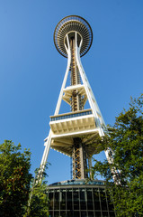 Space Needle in Seattle USA