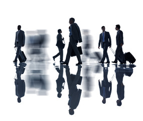 Group of Business People Travelling