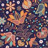 "Seamless pattern ""Indian summer"""