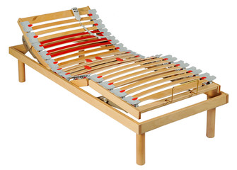 Adjustable motorised bed