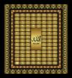 Постер, плакат: asmaul husna 99 Names of Almighty Allah