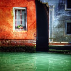 a beautiful window in Venice