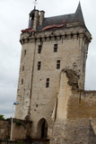 Castle of Chinon - La Tour de l'Horloge. Loire Valley.