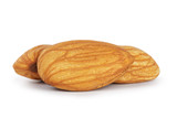 three almond nuts
