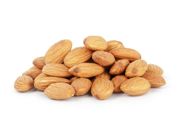 heap of almond nuts