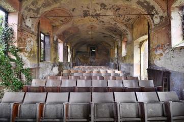Abandoned cinema - Piedmont, Italy