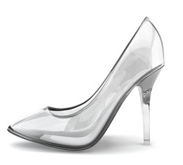 Crystal shoe