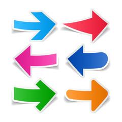 Paper arrows set