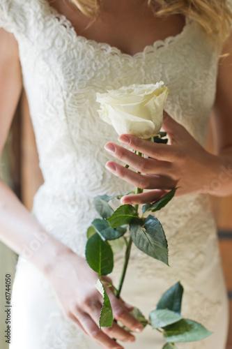 canvas print picture роза