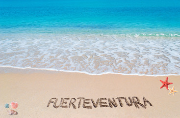 fuerteventura writing