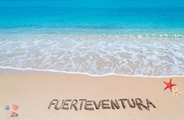 fuerteventura writing