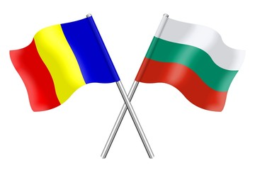 Flags: Bulgaria and Romania