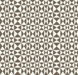Abstract retro geometric background.  Seamless vector pattern.
