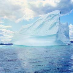 giant iceberg on the coast of Newfoundland