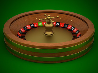 Roulette is a casino