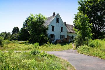 old age farm house