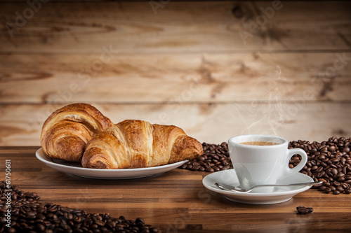 Foto op Canvas Cafe tazzina di caffè