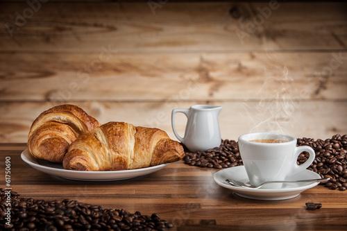 Deurstickers Cafe espresso eccellente