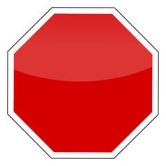 Perfektes Stopschild / Perfect Stopsignal