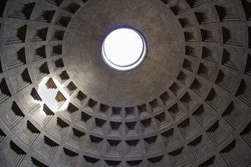 Roma, interno del Pantheon