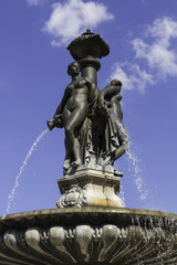 statue of place de la bourse, Bordeaux France