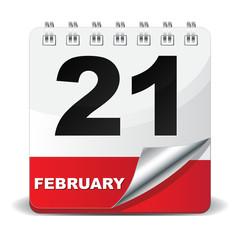 21 FEBRUARY ICON