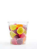 Fruit Jelly in Plastic Jar