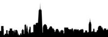 Fototapete - New York Skyline - Vector