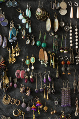 Collection of ear-rings