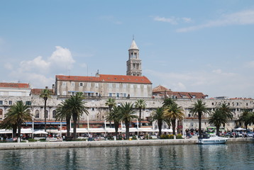 Harbour at Split Croatia