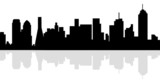 Dallas Skyline-vector