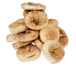 Pile of dried figs