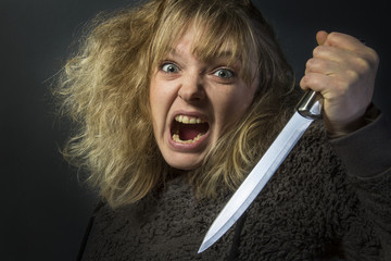 Psychotic Woman