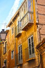 Toledo, Castilla La Mancha, casa antigua con mirador